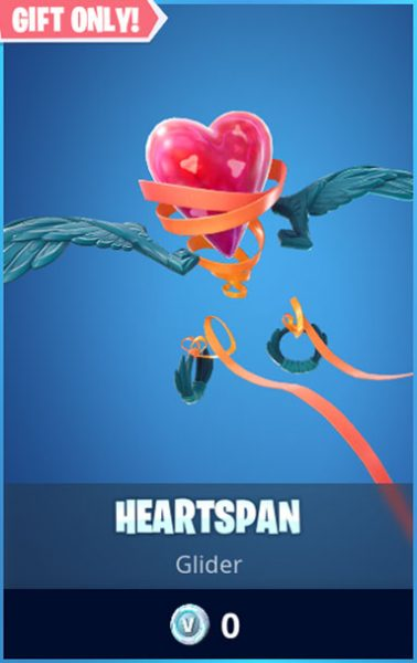 Heartspan Fortnite Glider