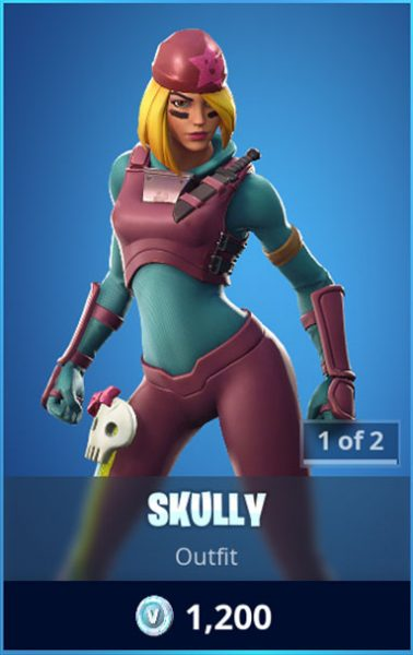 Skully Fortnite Skin